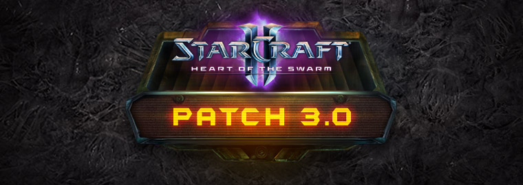 StarCraft II: Heart of the Swarm – Patch 3.0