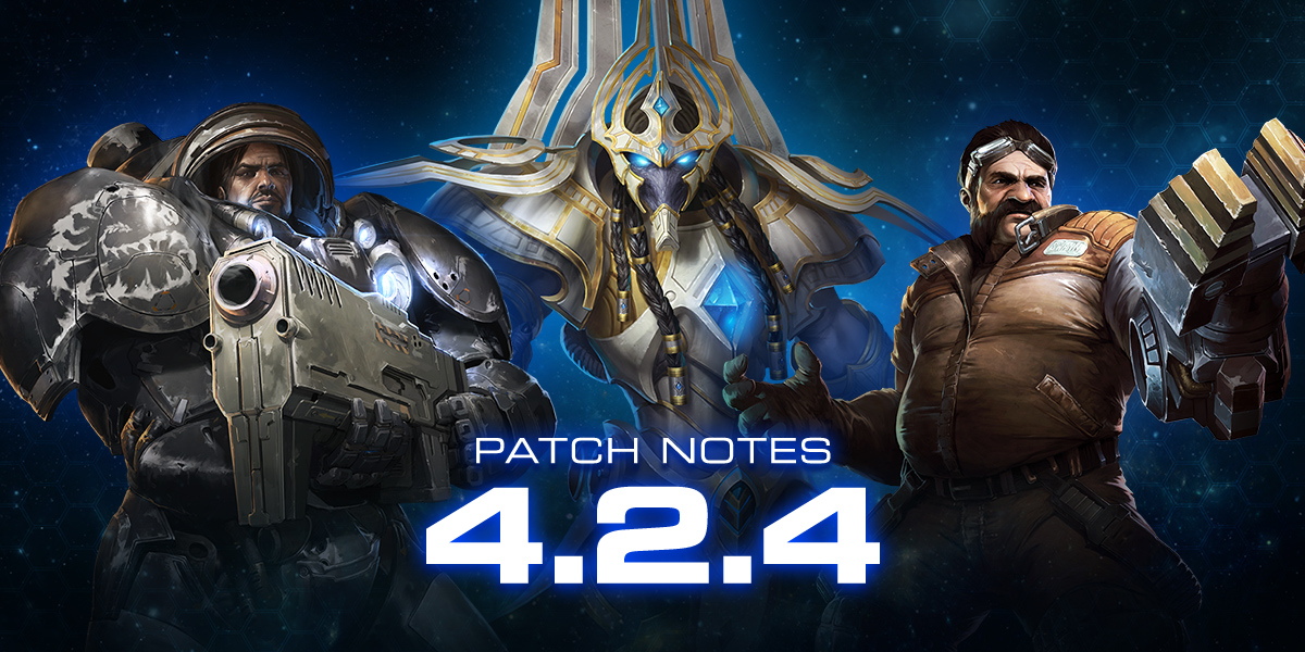 StarCraft II 4.2.4 Patch Notes