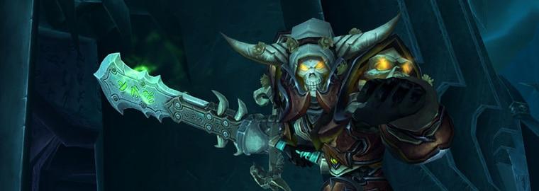 Armes prodigieuses de Legion : le chevalier de la mort