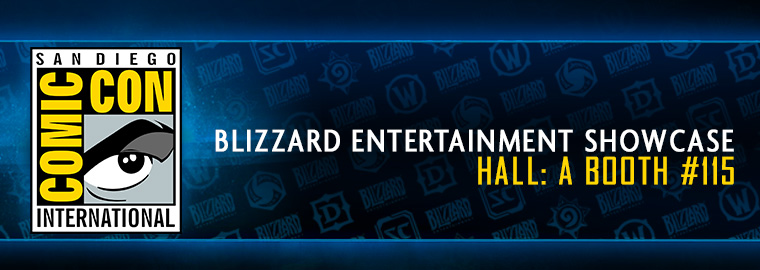 Come Visit the Blizzard Booth at San Diego Comic-Con!