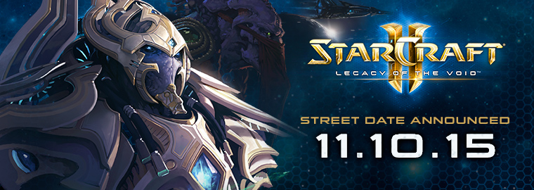 Legacy of the Void Launches 11/10 - Watch the Cinematic now!