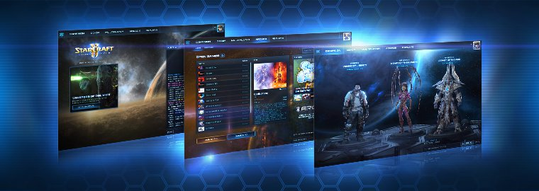 La nouvelle interface de StarCraft II