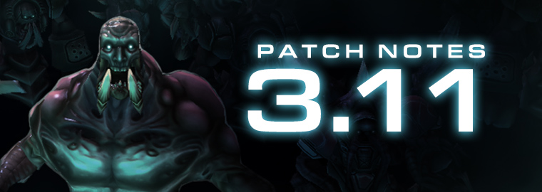 StarCraft II: Legacy of the Void 3.11 Patch Notes