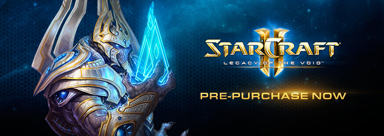Legacy of the Void™ Now Available for Pre-Purchase