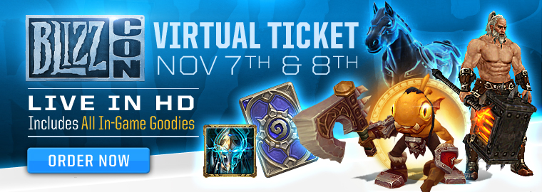 BlizzCon® 2014 In-Game Goodies Sneak Peek