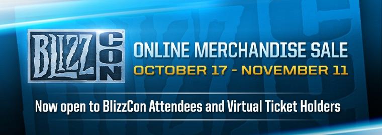 BlizzCon® Online Merchandise Sale Begins