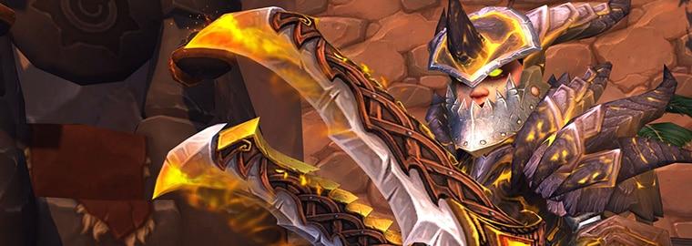 Armes prodigieuses de Legion : le guerrier