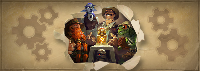 Hearthstone Patch 4.0.0.10833 - The League of Explorers
