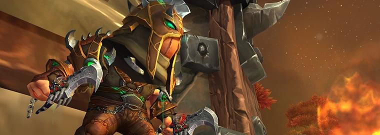 Armes prodigieuses de Legion : le voleur