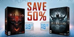 Diablo III ve Reaper of Souls'da % 50 İndirim...