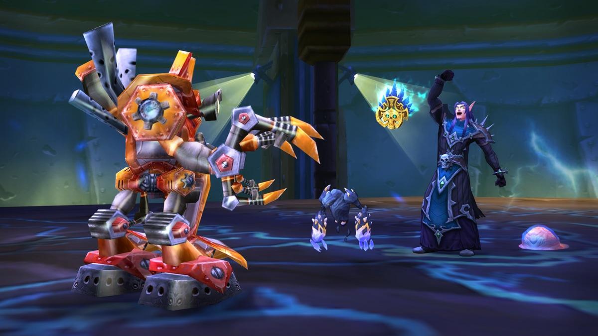 world of warcraft tides of vengeance pet battle dungeons