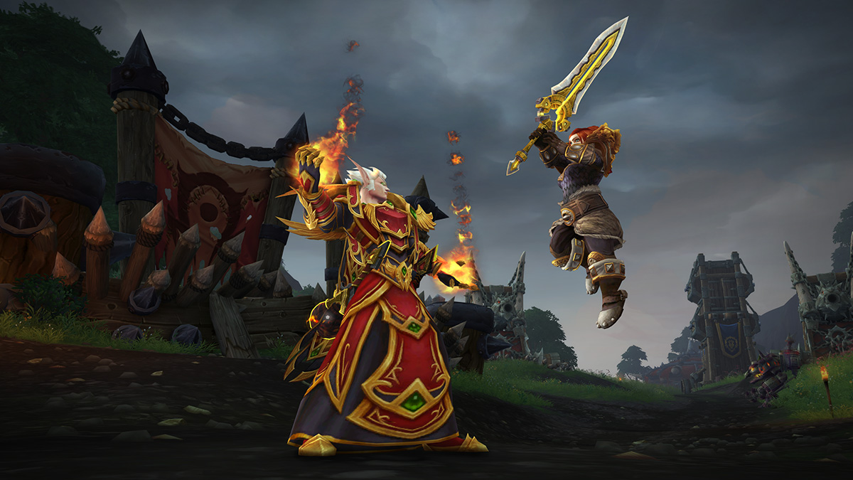Show Your Pride With New Blood Elf And Dwarf Heritage Armor