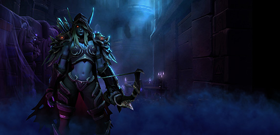 Sylvanas, the Banshee Queen, has entered the Nexus