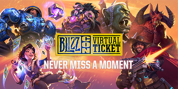The BlizzCon® 2018 Virtual Ticket Ön Satın Alma