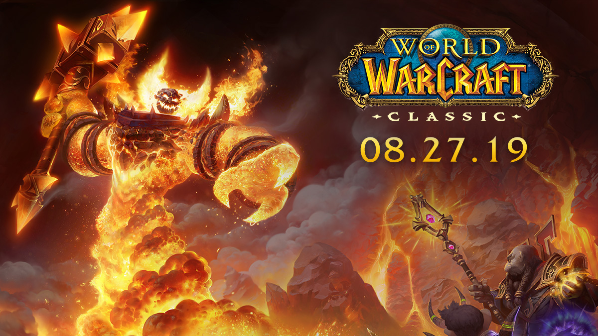 Mark Your Calendars: WoW Classic Launch and Testing Schedule