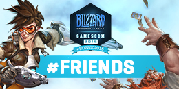 This week's #BlizzGC2015 Contest theme: #Friends
