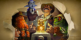 Hearthstone Patch 4.0 - The League of Explorers