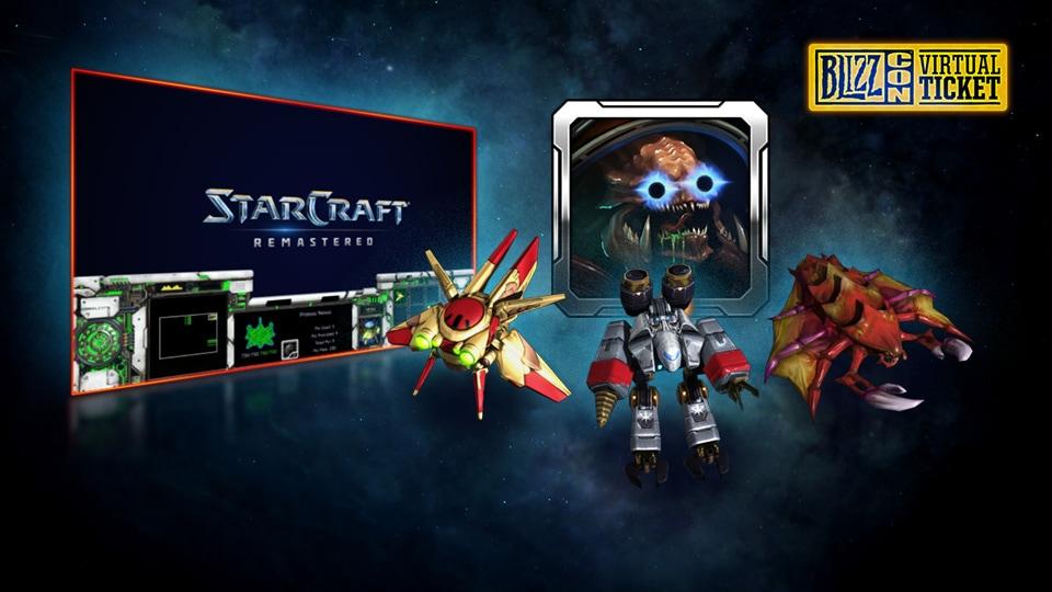 StarCraft BlizzCon Oyun İçi hediyeleri hazır...