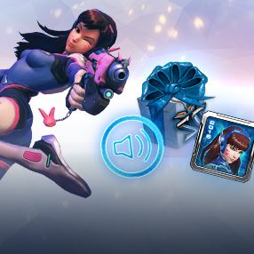 BlizzCon In-Game Goodies: D.Va Announcer and Portrait
