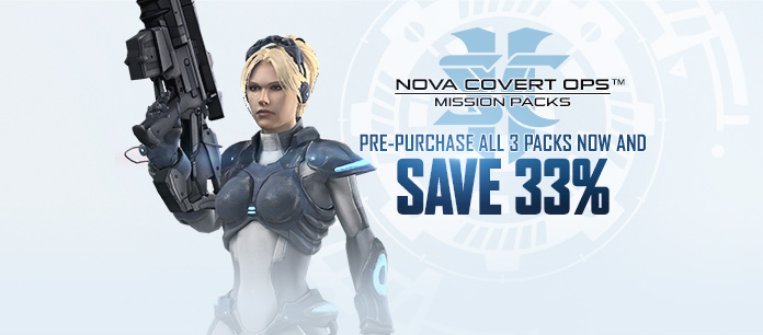 Pre-Purchase Nova Covert Ops™ Today!