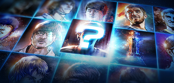 WCS Top 16 Portraits Inbound for StarCraft II