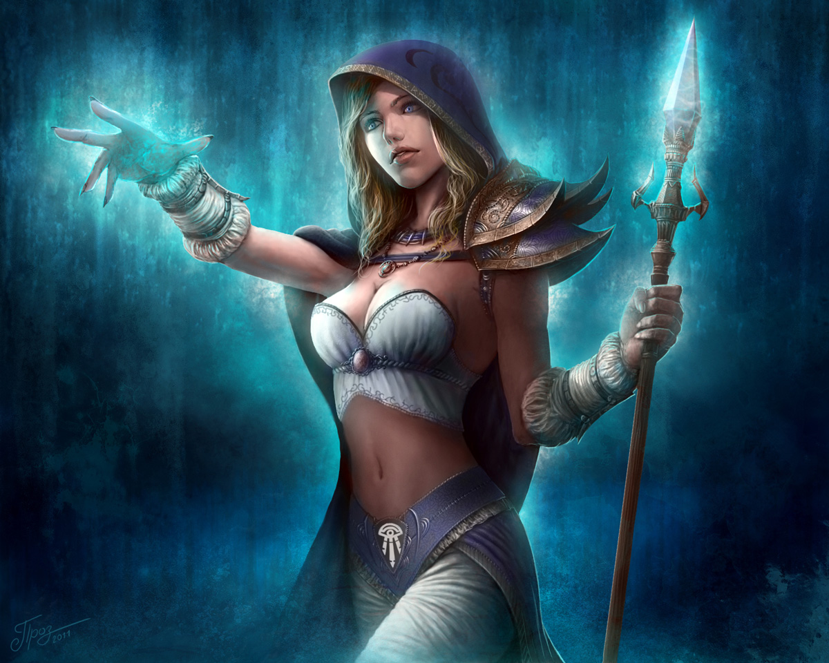 Jaina proudmoore the young sorceress in warcraft  porno image