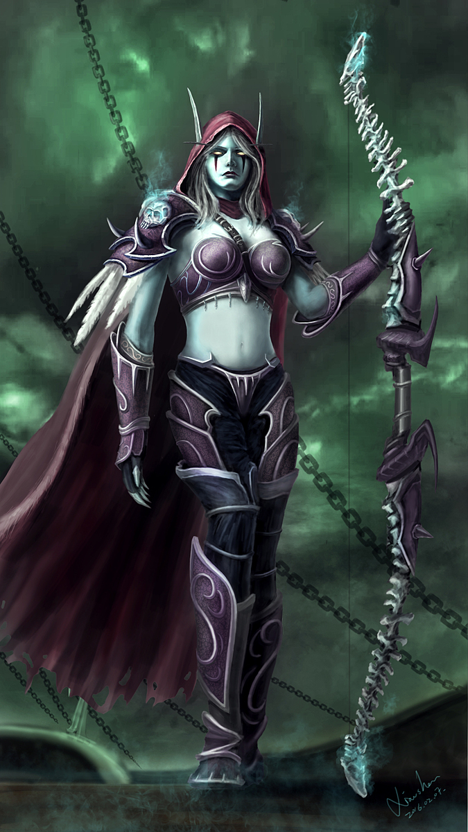 Sylvanas Windrunner chat erotic clips