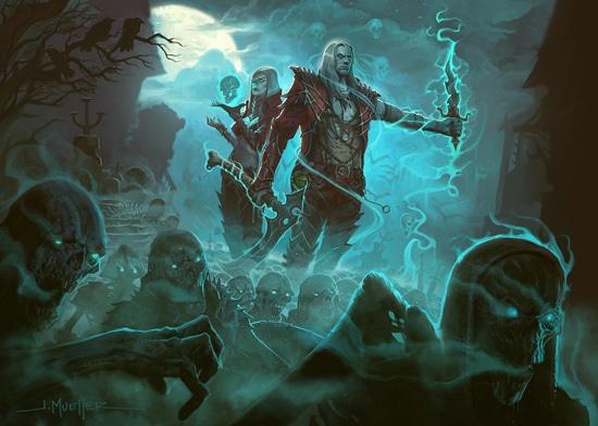 Necromancer Keyart