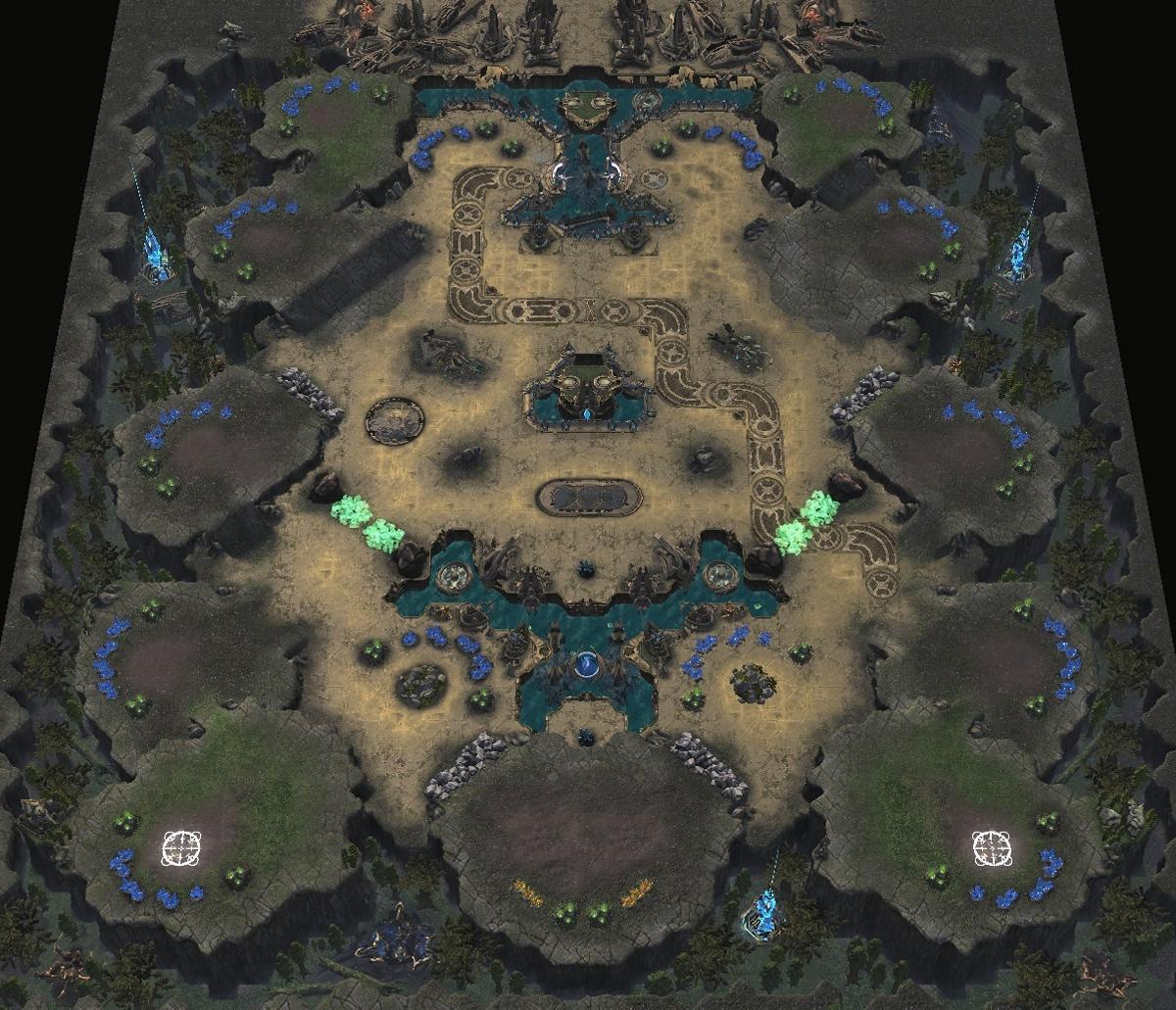 Новые карты для ладдера StarCraft 2