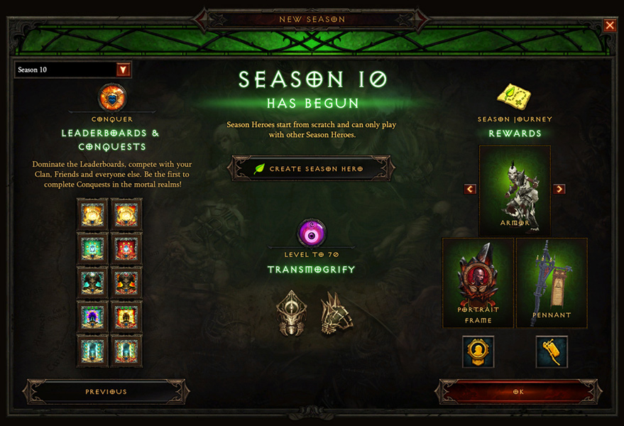 Diablo Season 10 Now Live | Ruin Gaming