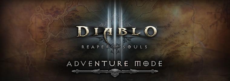 Adventure Mode Diablo 3