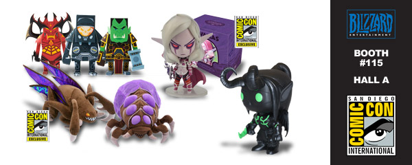 Exclusive Blizzard Merch at San Diego Comic-Con