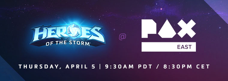 Heroes of the Storm at PAX East 2018