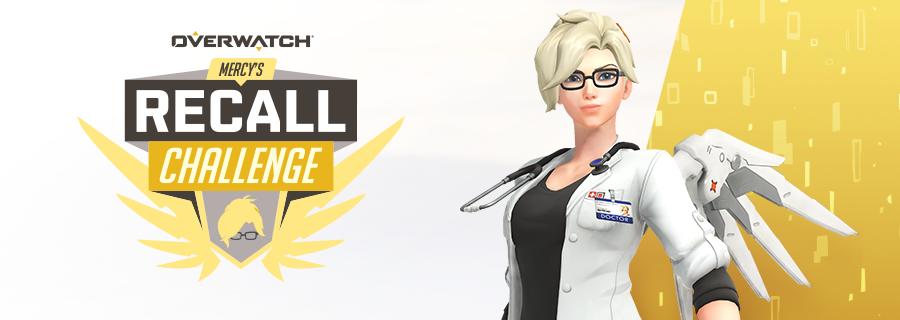 Take flight in Mercy's Recall Challenge!