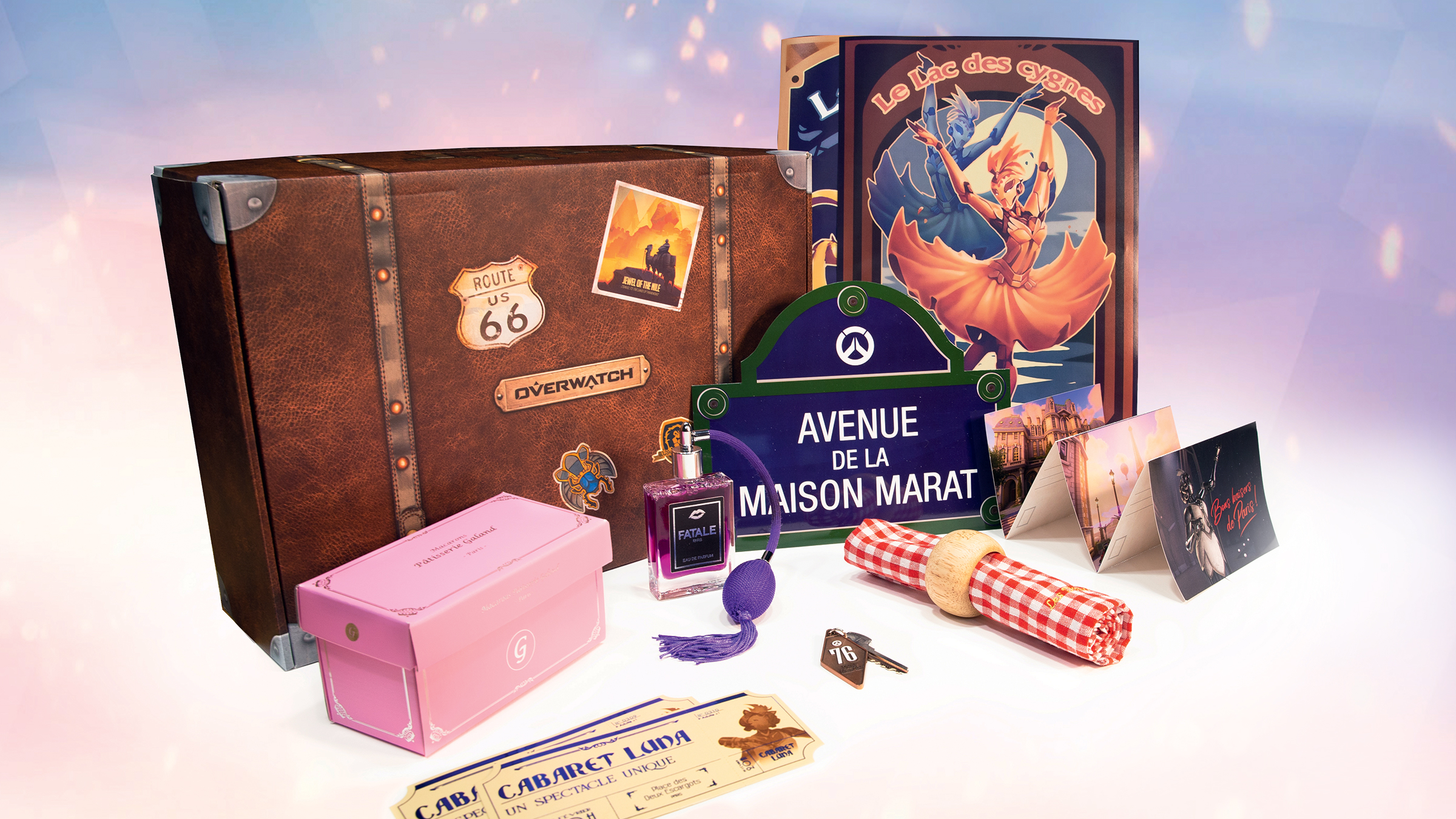 Overwatch Europe Paris Map Sweepstakes