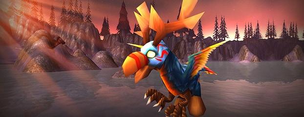 """Le Bébé hippogriffe cénarien est une nouvelle mascotte disponible dans le """"Blizzard shop"""""""