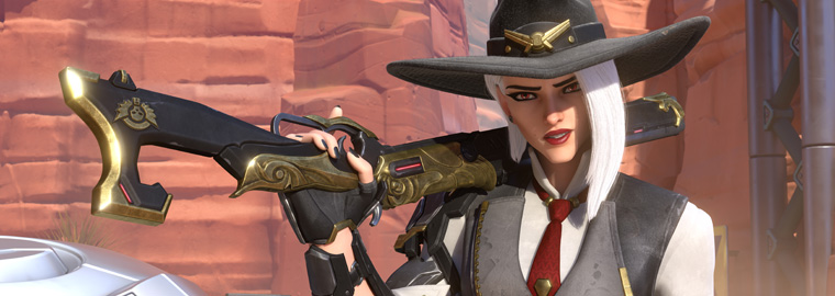 New Overwatch Hero Ashe Reunites with an Old Acquaintance in Latest Animated Short