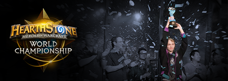 Congratulations to the 2016 Hearthstone World Champion: Pavel!
