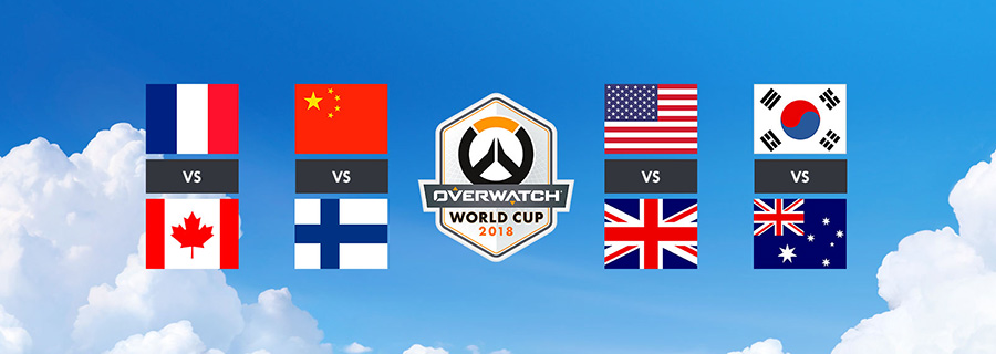 Avance de los cuartos de final de la Overwatch World Cup