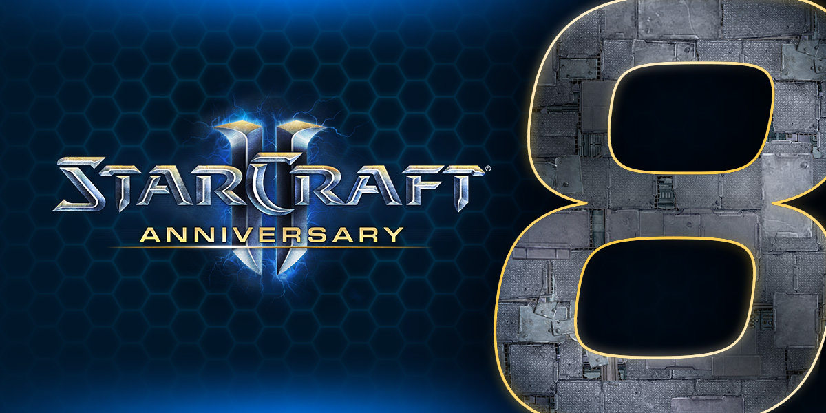 Celebrating StarCraft II's Eighth Anniversary