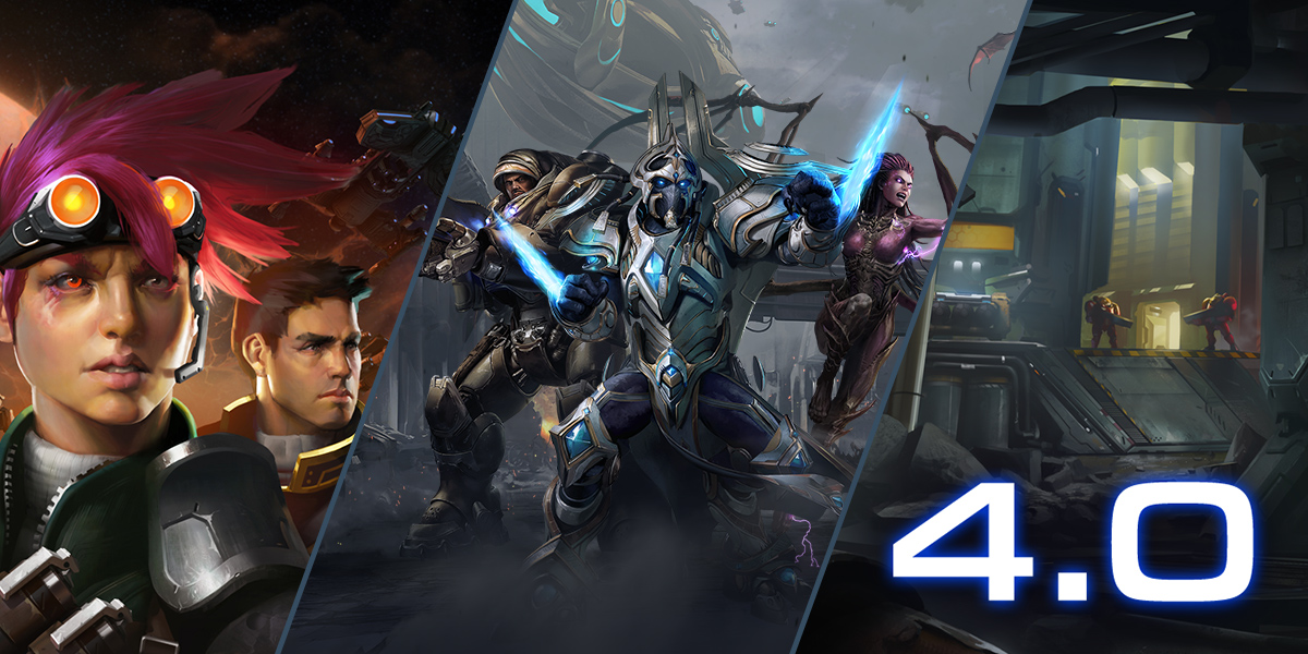 Notes de mise à jour de StarCraft II: Legacy of the Void 4.0