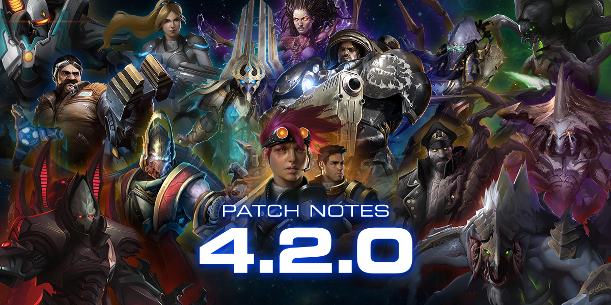 StarCraft II 4.2.0 Patch Notes