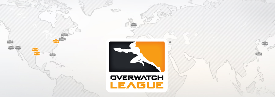 The Overwatch League™ Signs Final Three Teams for Inaugural Season