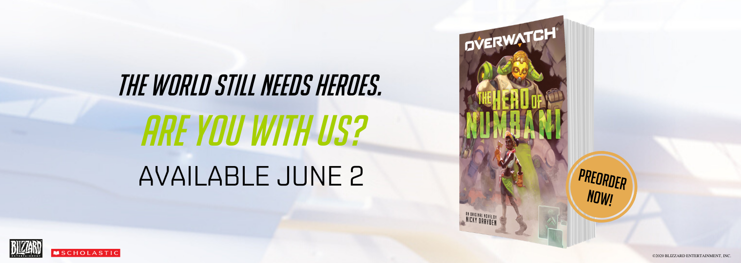 Official Overwatch Novel: The Hero of Numbani