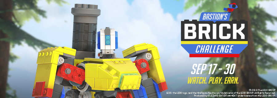 Build yourself up with Bastion's Brick Challenge