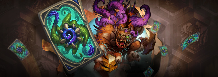 Hearthstone® April 2016 Ranked Play Season – Clutches of Evil!