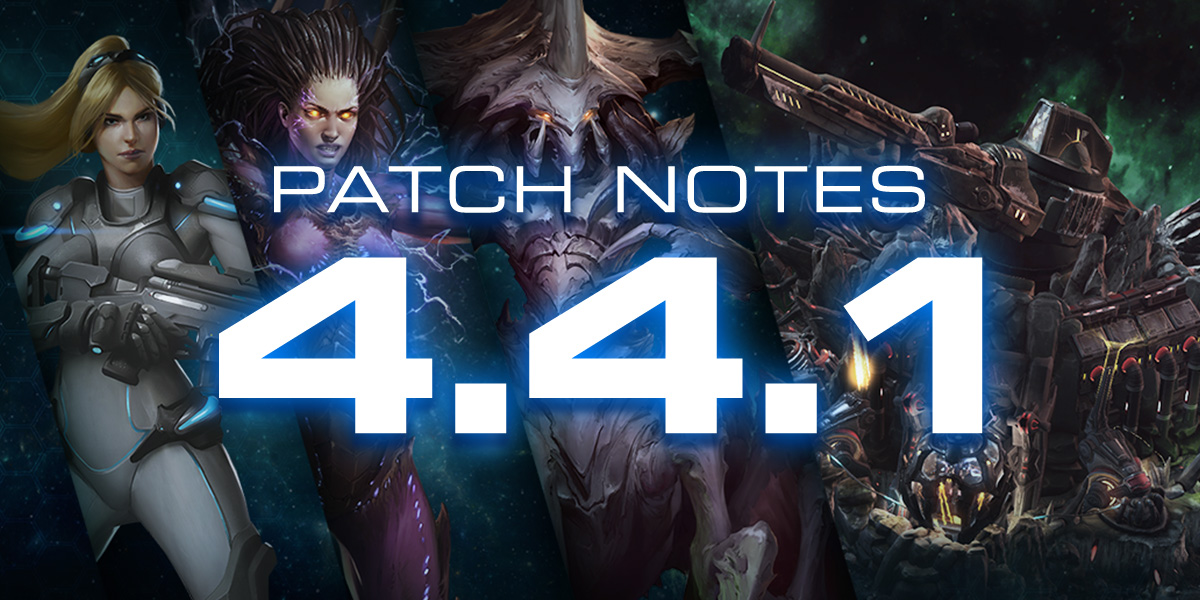 StarCraft II Notes de mise à jour 4.4.1