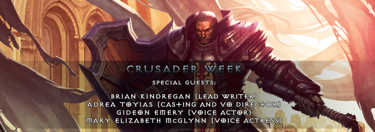 Crusader Voice Acting Interview with BlizzPro