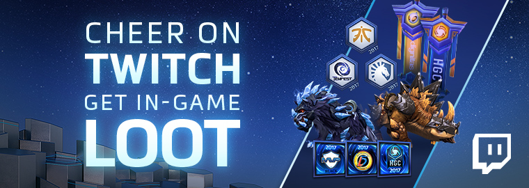 Twitch and Blizzard Empower Fans with HGC Cheer