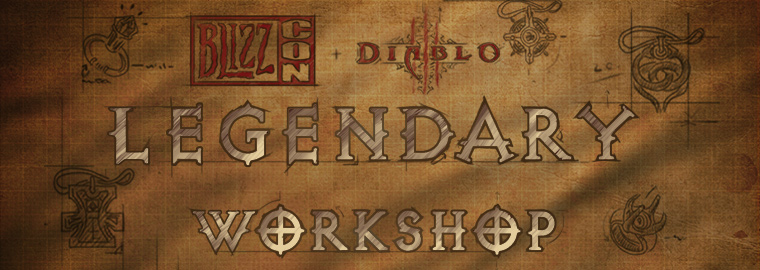 Ecco a voi il BlizzCon Legendary Workshop